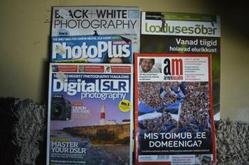 3 inglise keelset fotograafia ajakirja