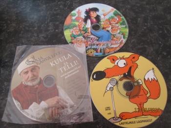 3 cd plaati