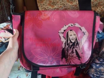 Hannah Montana pildiga üleõla kott