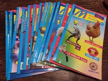 Minu maailm ajakirjad lastele