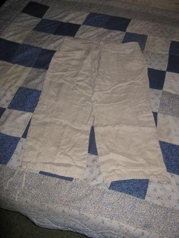 Caslon linased 3/4 püksid, L