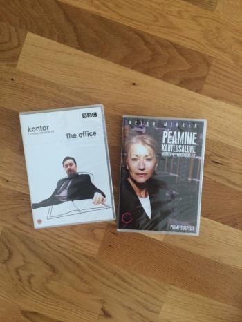 6 dvd-plaati