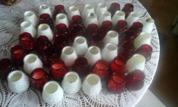 Veneetsia küünalde klaasid