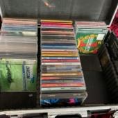 Kohver koos CD-dega