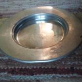 Kerge metalltaldrik laiade servadega