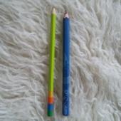Mitmevärvilised pliiatsid