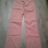 Virsikuvärvi püksid