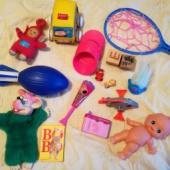 Mõned mänguasjad...