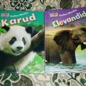 2 raamatut loomadest.