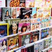 igasugu värvilisi ajakirju