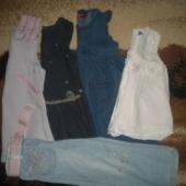 Püksid ja kleidid 98