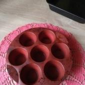 Silikoonist muffinivorm