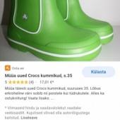 Crocs kummikud j3