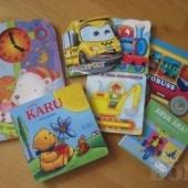 Erinevad raamatud ja pusled lastele