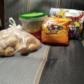 Pähklid, rosinad ja kõrvitsaseemned