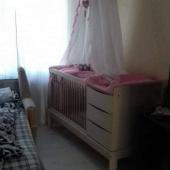 Baldahiin voodile, roosa.