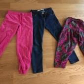 Tüdrukute püksid 130-140