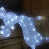 valgustusega dekoratsioon Põder