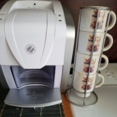 Kohvimasin ja tassid