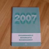 Eksaminandile geograafia riigieksamist 2007