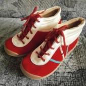Punased lastekingad,sisetald 19cm.
