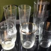 Erinevad klaasid 7tk