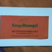 Kangadzungel ajutine kliendikaart 4tk