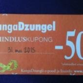 KangaDzungel -50% kupong