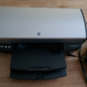 Tindiprinter HP DeskJet 5940 (poolepidune)