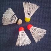Badmintoni pallid