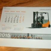 2015 a. Toyota kalender kogujale