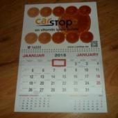 2015 a. Carstop kalender kogujale