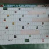 2014/15 õppeaasta kalenderplakat
