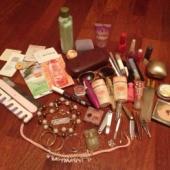 Palju pudi padi ja kosmeetikat