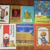 lasteraamatud + säraküünlad