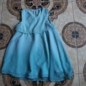 kleit 128cm pikkusele