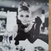 Audrey Hepburni plakat