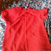 ilus punanae top särk