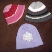 3 talvemütsi