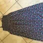 Liblikatega kleit 7-aastasele