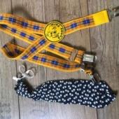 Väiksele poisile lips ja traksid
