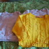 2 pusa ja džemper 92&104