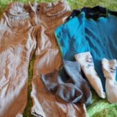 Püksid ja pluus 4aastasele