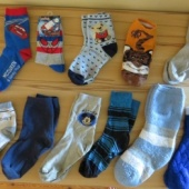 11 paari laste sokke, parajad jalanumbrile 31 - 34
