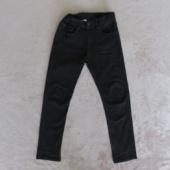 H&M poiste musta värvi stretšteksapüksid suurusele 140