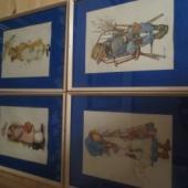 Neli raamitud pilti
