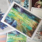 Kust Ilma Käteta ja Unicef jõulupostkaardid.