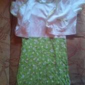 Tüdrukute kleit ja jakk 16