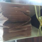 :) raamatust käsitööna valmistatud.....