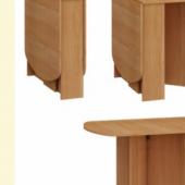 Kokkupandav klapp laud